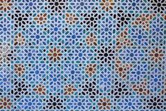 arabisk detaljtegelplatta Fotografering för Bildbyråer