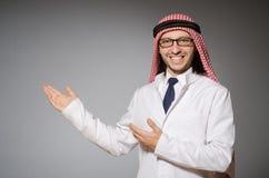 arabisk doktor royaltyfria bilder