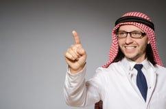 arabisk doktor arkivbilder