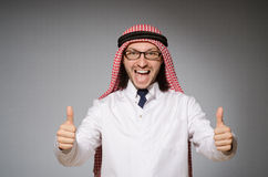 arabisk doktor royaltyfria foton