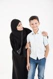 arabisk familj Fotografering för Bildbyråer