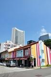 Arabisk fjärdedel det äldsta historiska shoppingområdet av Singapore Royaltyfri Bild