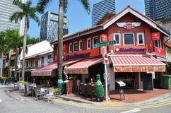 Arabisk fjärdedel det äldsta historiska shoppingområdet av Singapore Royaltyfri Foto