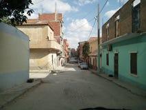 Arabisk gata Arkivbild
