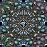 arabisk geometrisk modell royaltyfria foton