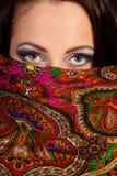 arabisk härlig kvinna Arkivbilder