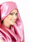 arabisk härlig kvinna Arkivfoton
