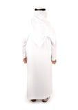 arabisk isolerad man arkivfoto