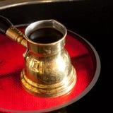 arabisk kaffekruka Arkivfoto