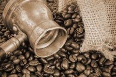 arabisk kaffekruka Fotografering för Bildbyråer