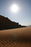 arabisk öken Royaltyfria Bilder