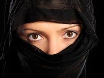 arabisk kvinna Arkivfoton