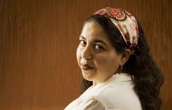 arabisk kvinna Royaltyfria Foton