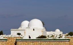 arabisk kyrkogård Arkivfoto