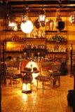 Arabisk lampa Arkivbild