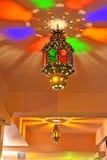 Arabisk lampa med härliga lampor vektor illustrationer