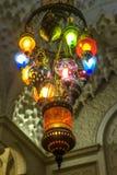 Arabisk ljuskrona fotografering för bildbyråer