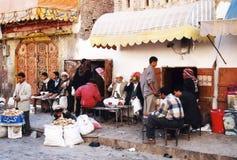 arabisk lokaltea Arkivbilder