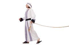 Arabisk man Arkivfoto