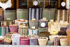arabisk marknad Fotografering för Bildbyråer