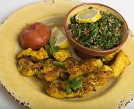 Arabisk mat Fotografering för Bildbyråer