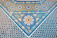 arabisk mosaik Arkivbild