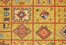 arabisk mosaik Arkivbilder