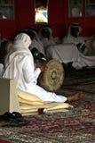 arabisk musiker Arkivbild