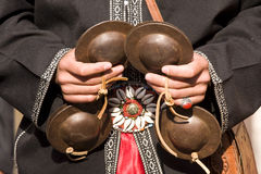 arabisk musiker Arkivfoto