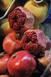 arabisk ny fruktsaftpomegrante Arkivbilder
