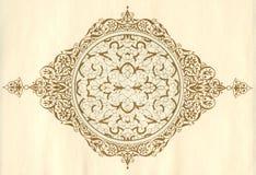 arabisk pattern1 Royaltyfri Fotografi