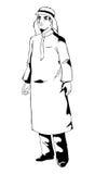 Arabisk person Arkivfoton