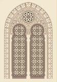 Arabisk prydnad Royaltyfri Bild