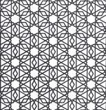 Arabisk prydnad - traditionell prydnad royaltyfri illustrationer