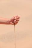 arabisk sand Arkivfoton