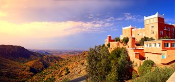 arabisk slott Royaltyfria Foton
