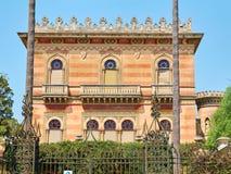 Arabisk slott av sydliga Italien Arkivbild