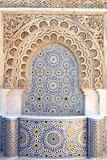 arabisk springbrunnmosaik Royaltyfri Foto