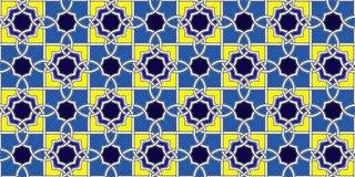 Arabisk tapet Royaltyfri Fotografi
