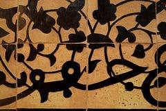 arabisk tegelplatta Fotografering för Bildbyråer
