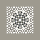 Arabisk traditionell mosaik Arkivfoto