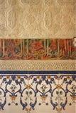 arabisk vägg Arkivfoton