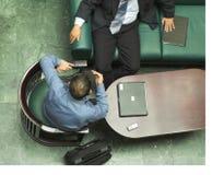 arabiska affärsmän Arkivfoto