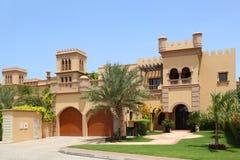arabiska archsgarage house stil två arkivfoto