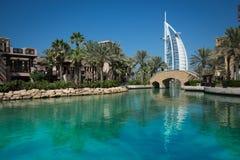 Arabiska Burj alun Royaltyfria Bilder