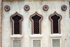 arabiska fönster Arkivbilder
