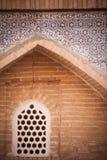 Arabiska garneringar på en vägg royaltyfria foton