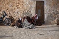 arabiska gruppmän Fotografering för Bildbyråer