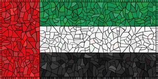 arabiska idérika emirates flag den förenade nationalen stock illustrationer