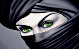 arabiska kvinnor Arkivbild
